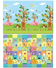 Hoobei Playmat Large Size - Birds in the Trees