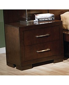 Jessica 2-Drawer Nightstand