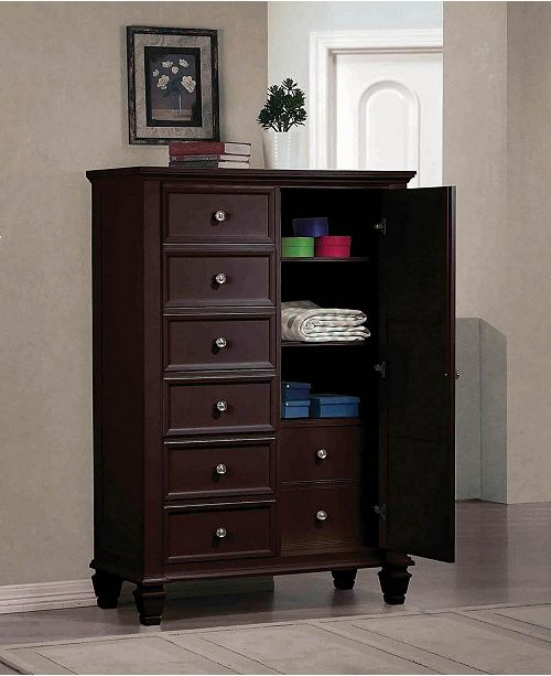 Coaster Home Furnishings Sandy Beach 8-Drawer Man's Chest