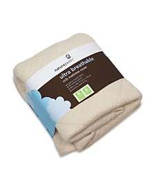 Naturepedic Ultra Breathable Mattress Cover Protector Pad