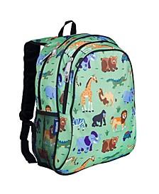 "Wild Animals 15"" Backpack"