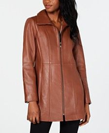 Anne Klein Petite Leather Jacket