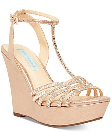 Blue by Betsey Johnson Ember Wedge Sandals