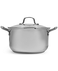 Stainless Steel 8-Qt. Covered Stockpot