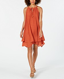 Handkerchief-Hem Sleeveless Dress, Created for Macy's