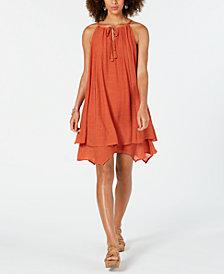 Style & Co Handkerchief-Hem Sleeveless Dress, Created for Macy's