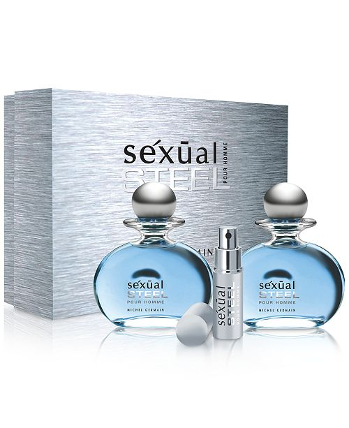 Michel Germain Sexual Steel Pour Homme 3-Pc. Gift Set