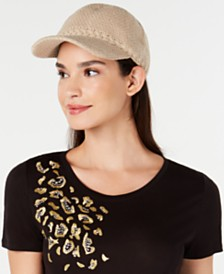 I.N.C. Packable Baseball Cap With Fleece Lining, Created for Macy's