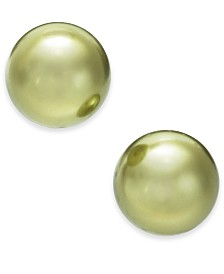 Charter Club Imitation Pearl (12mm) Stud Earrings, Created for Macy's