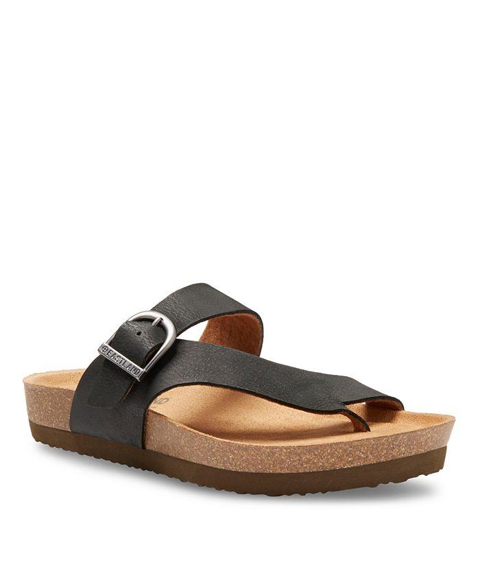 Eastland Shoe - Shane Adjustable Thong Sandal