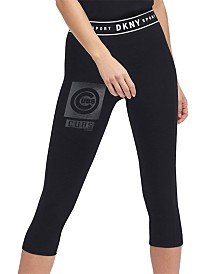 DKNY Women's Chicago Cubs Capri Leggings