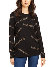 Michael Michael Kors Logo T-Shirt, Regular & Petite Sizes