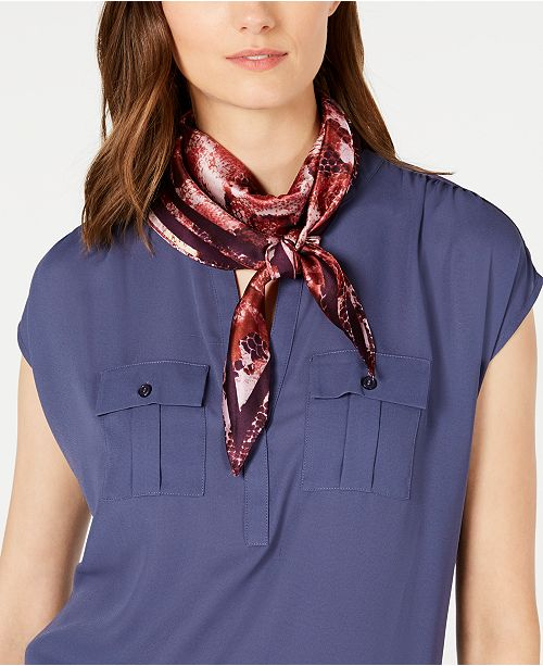 INC International Concepts INC Snake-Print Kite Scarf, Created for Macy's