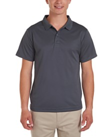Nautica Young Men Short Sleeve Performance Polo