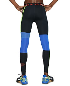 Nike Men's Pro Colorblocked Compression Leggings