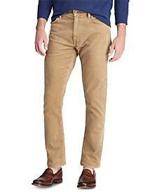 Men's Slim Fit Stretch Corduroy Five-Pocket Pants