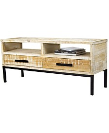 Heather Ann Dillon TV Stand with 2 Drawers