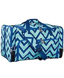 Zigzag Lucite Weekender Duffel Bag
