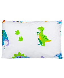 Wildkin's Dinosaur Land Toddler Hypoallergenic Toddler Pillowcase