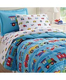 Trains, Planes and Trucks Sheet Set - Full