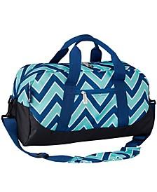 Zigzag Lucite Overnighter Duffel Bag