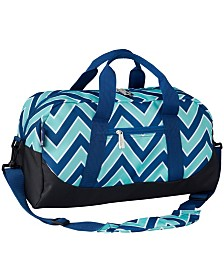 Wildkin Zigzag Lucite Overnighter Duffel Bag