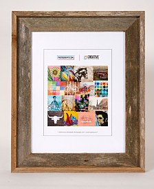 "Creative Gallery Rustic Reclaimed Barnwood 11"" x 14"" Picture Photo Frame"