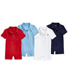 Polo Ralph Lauren Baby Boys Shortall Bundle