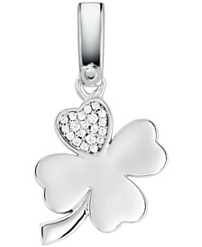 Michael Kors Sterling Silver Clover Charm