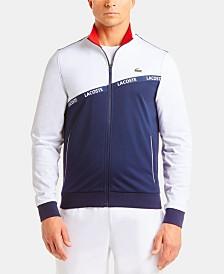 Lacoste Logo Taped Full Zip Jacket