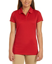 Juniors Short Sleeve Performance Polo