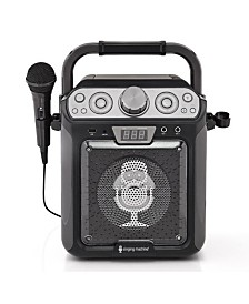 The Singing Machine Groove Cube CDG Karaoke System