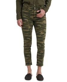 Lucky Brand Ava Camo-Print Skinny Jeans