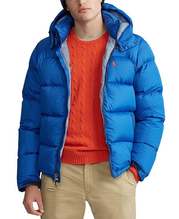 Polo Ralph Lauren Men's El Cap Hooded Down Jacket