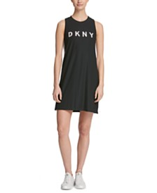 DKNY Sport Logo Sleeveless Dress