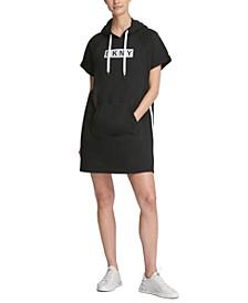 Sport Logo Hoodie Dress