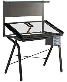 Monarch Specialties Adjustable Drafting Table