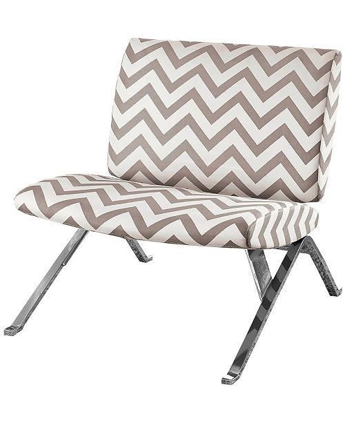 Monarch Specialties Polyester Blend Accent Chair