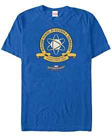 Marvel Men's Spider-Man Homecoming Midtown School of Science Emblem Short Sleeve T-Shirt