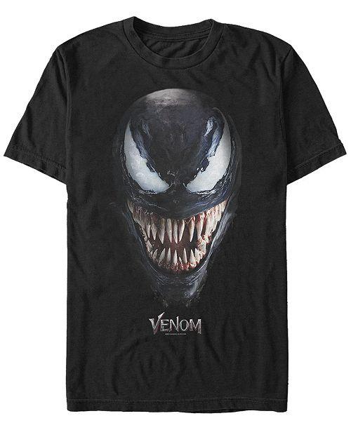 Marvel Men's Venom Big Face Costume Short Sleeve T-Shirt
