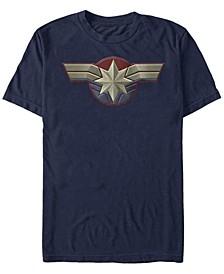 Captain Men's Uniform Costume Short Sleeve T-Shirt
