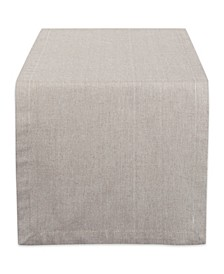 "Solid Chambray Table Runner 14"" x 72"""