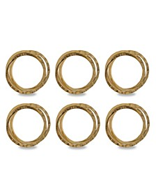 Intertwined Napkin Ring Set of 6