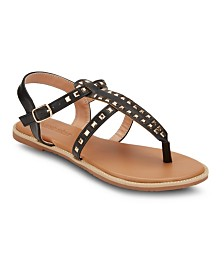 Olivia Miller Passion Fruit Studded Sandals