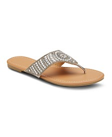 Olivia Miller Saved Fav Embellished Sandals