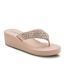 Dare to Dream Wedge Sandals