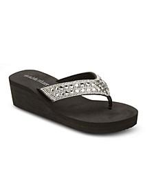 No Filter Wedge Sandals