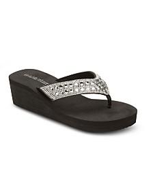 Olivia Miller No Filter Wedge Sandals
