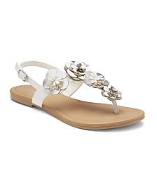 Olivia Miller Solely Your's Floral Sandals