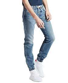 Men's 501® Original Straight-Fit Stretch Jogger Jeans